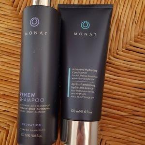 Monat renew shampoo & advanced hydration condtione
